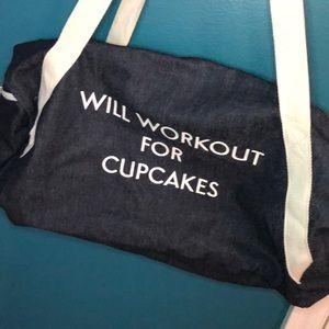 Handbags - Lightweight denim duffle bag